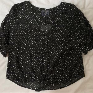 Abercrombie & Fitch star blouse